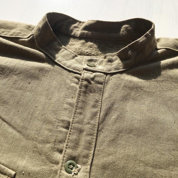 Vintage 1940s Japanese Imperial Marines Shirt WW2