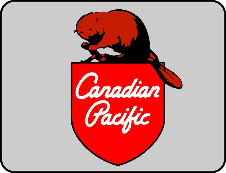 Canadian Pacific 1960/'S Beaver Shield Flexfit Cap Light Grey