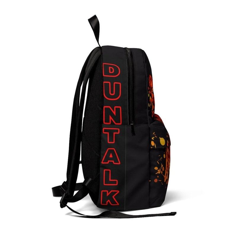 Glide Edition Large Duntalk Splatter Kings Basketball Backpack