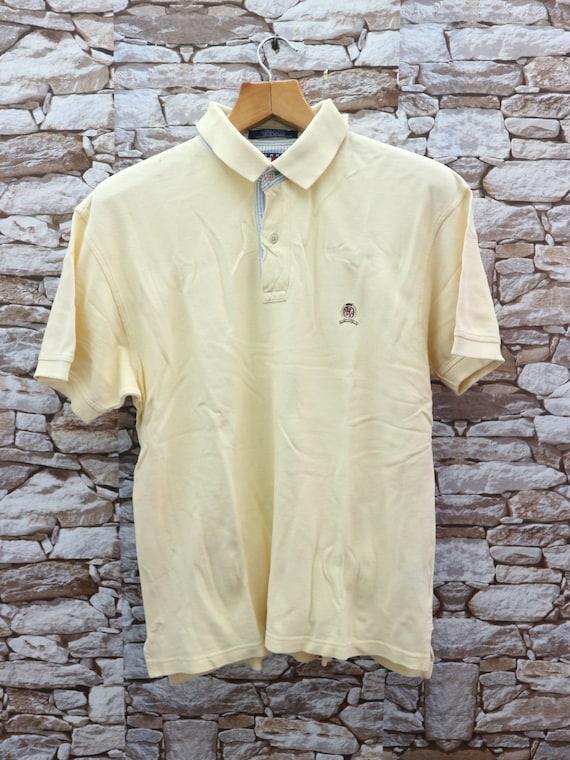 Vintage Tommy Hilfiger Collared T-Shirt Minimalist
