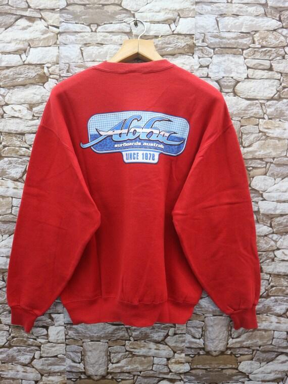 Vintage Aloha Big Logo Sweatshirt Surf Aloha Hawai