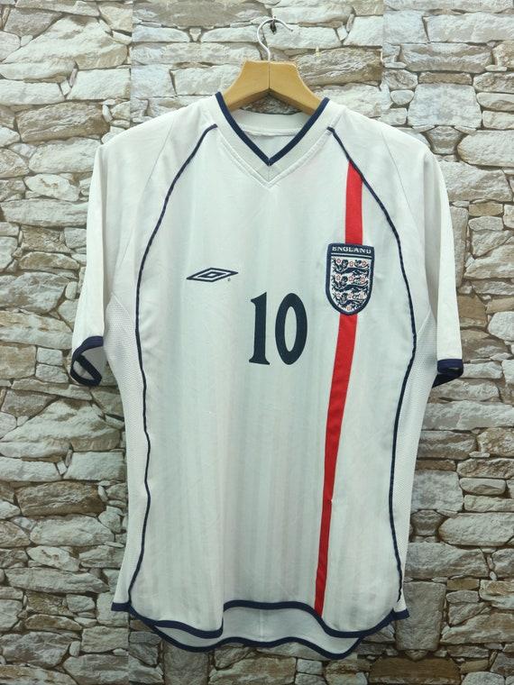 Vintage England Jersey Owen 10 By Umbro Sport Wear