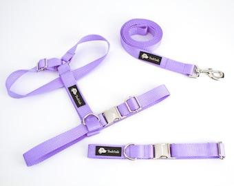 Dog Harness dog top dog clothes dog accessories dog vest orchid dog harness lavender dog harness purple dog harness