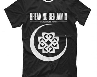 Breaking Benjamin Hoodie Alt Rock Music Band Gift Logo Graphic Hoody Hooded Top