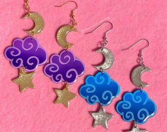 Nighttime Earrings