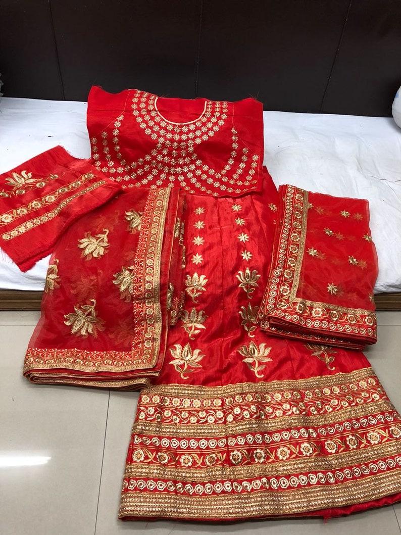 New Wedding Dress Lehenga Choli Indian Bridesmaids Dress Ethnic Party Evening Wedding Wear Dress Fancy Top Lehenga Set For Women