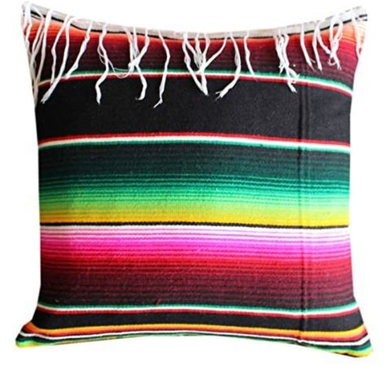 Mexican Serape Pillow Cover in 2020