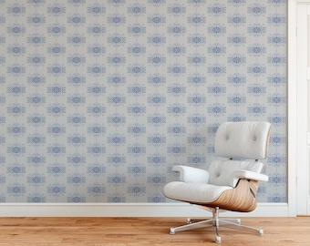 Knit Inspired /'Trellis/' Wallpaper