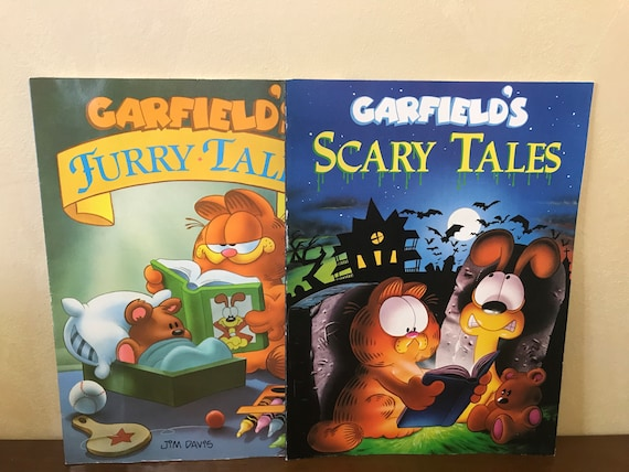 Garfield S Furry Tales Garfield S Scary Tales Etsy