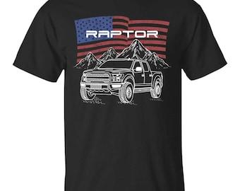Wheel Spin Addict Mens Raptor F-150 Pullover Hoodie