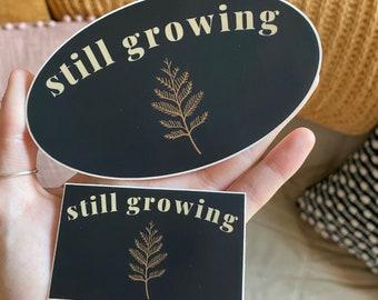 still growing stickers