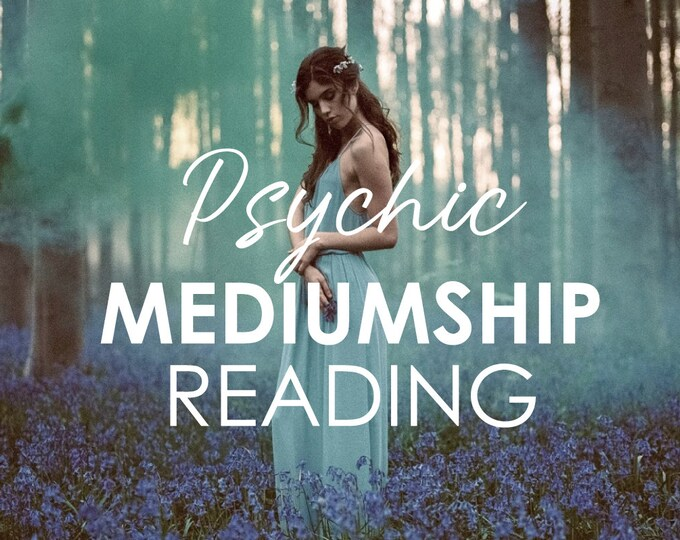 Featured listing image: Mediumship Psychic Reading to Connect with a Loved One or Pet with Lisa Saliture Psychic Tarot Medium Readings