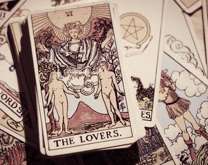 Featured listing image: Love Life Numerology & Tarot Card Reading with Lisa Saliture Psychic Tarot Medium Readings