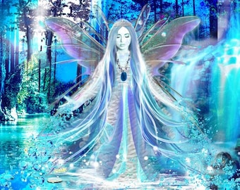 The Master Crystal Healing Fairy Grid Session with Lisa Saliture Psychic Tarot Medium Readings