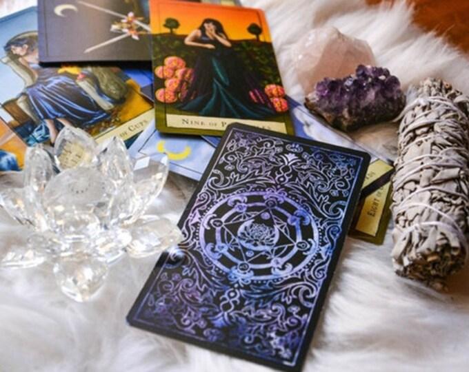 Featured listing image: Numerology & Tarot Card Reading with Lisa Saliture Psychic Tarot Medium Readings