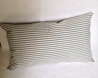 Pillow Shams 20 x 26 Ticking Stripe