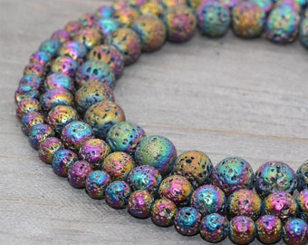 "12x14mm Volcanic Lava éponge Gemstone Tube Beads for jewelry making Strand 15/"""