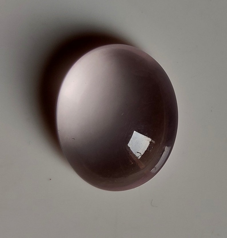 Beautiful Rose Quartz Cabochon Loose Gemstone 19 Caret Oval Shape Best For Silver,Wire wrap Jewelry 16x20x9 Super Rose Quartz Star Quality