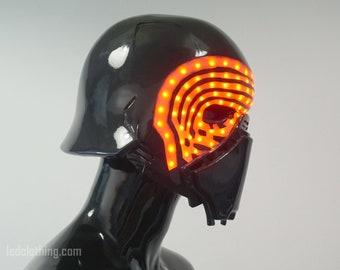 Kylo Ren Light Up Helmet | Cosplay helmet | LED helmet | Star Warsface mask | Custom helmet
