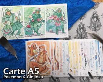 Map A5 - Pokemon & Ginjinka