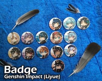 Badge - Genshin Impact Liyue