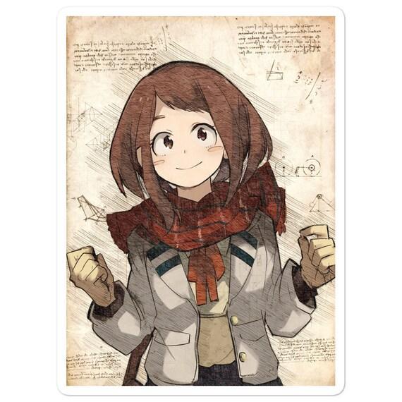 Ochako Uraraka Uravity Boku No Hero Academia My Hero Wall Art Etsy