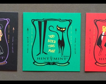 Martini Wolf Sticker Decal Artist Shag Josh Agle SH51