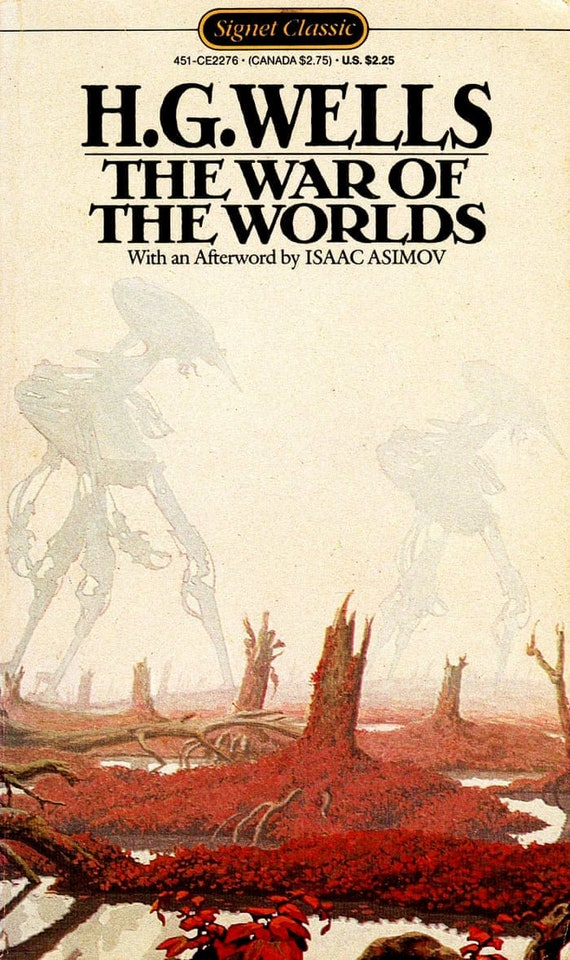 Image result for war of the worlds book cover