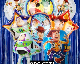 TOY STORY LOOT BAGS 8PC CANDY BAGS PARTY FAVORS TREAT BAGS WOODY JESSIE BUZZ REX
