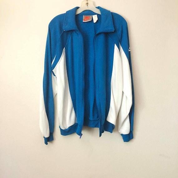 Vintage Retro Nike Zip Up Sweater, Vintage Nike, W