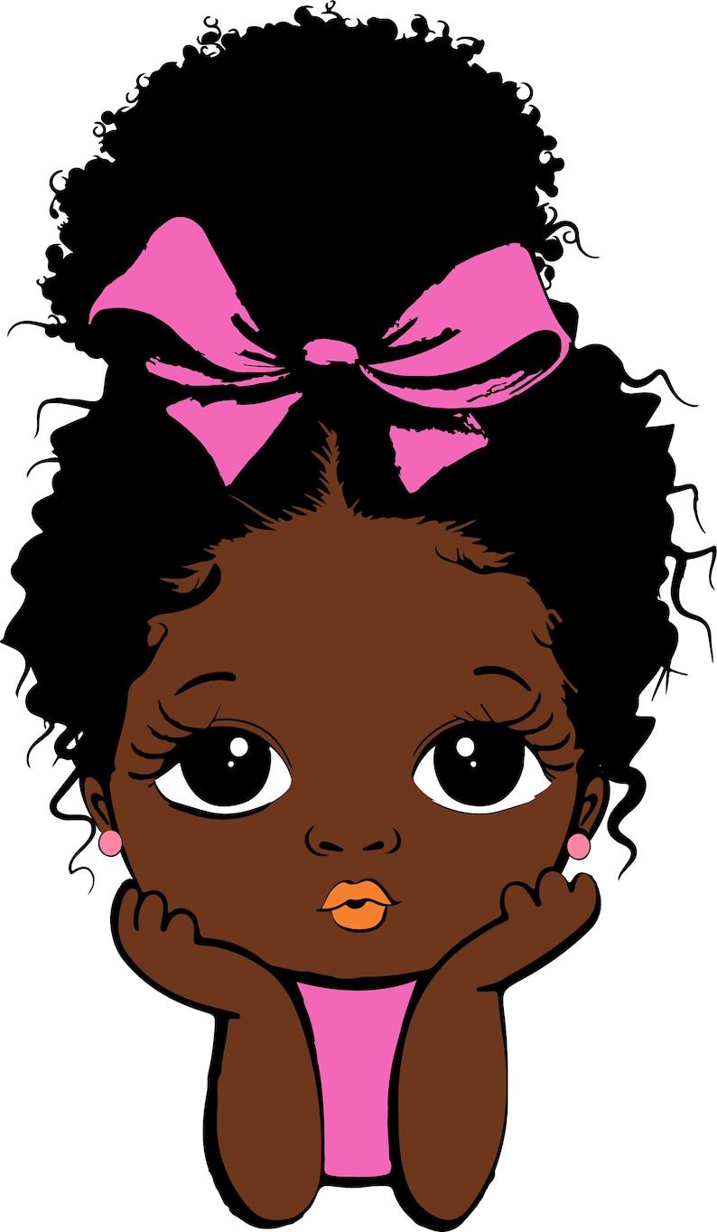 Download Peekaboo girl Bundle princess svg Cute black African | Etsy