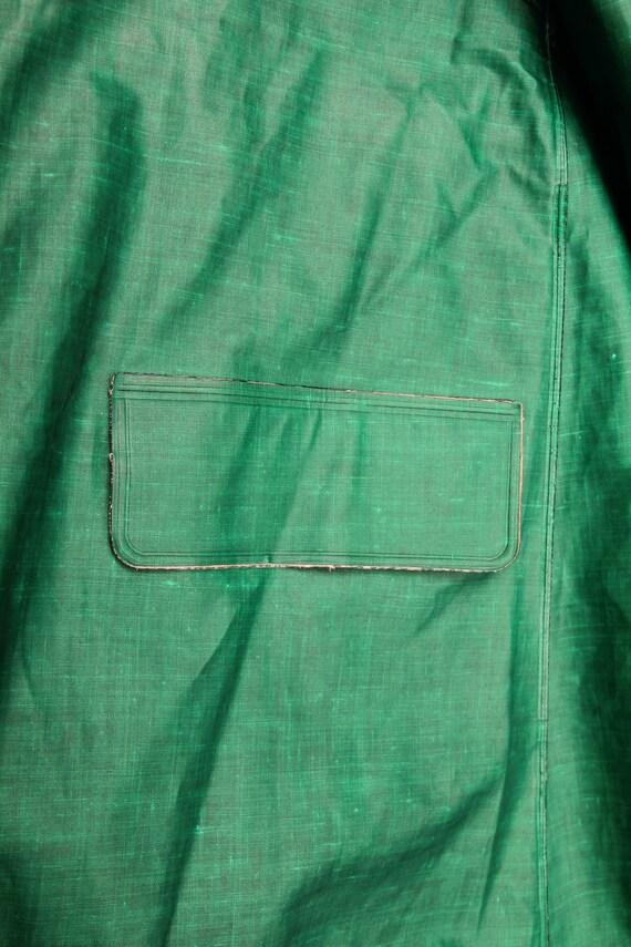 Vintage Green Rukka Raincoat / Long Bohemian Rain… - image 9