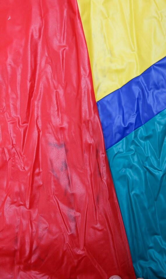 Vintage Colourful Raincoat / Children Raincoat / … - image 6