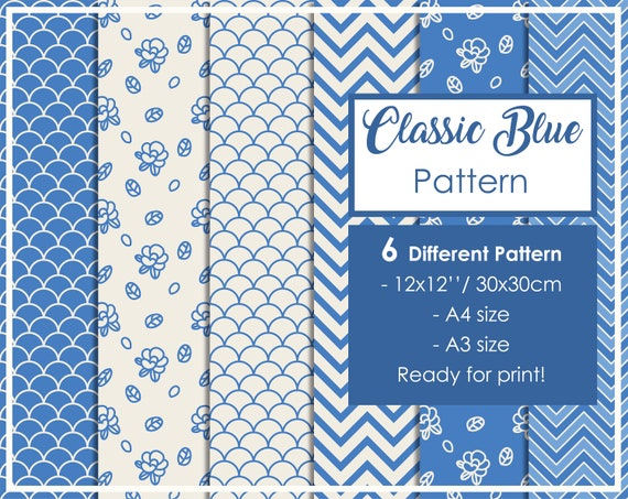Printable Patterns For Scrapbooking Book Binding Your Etsy