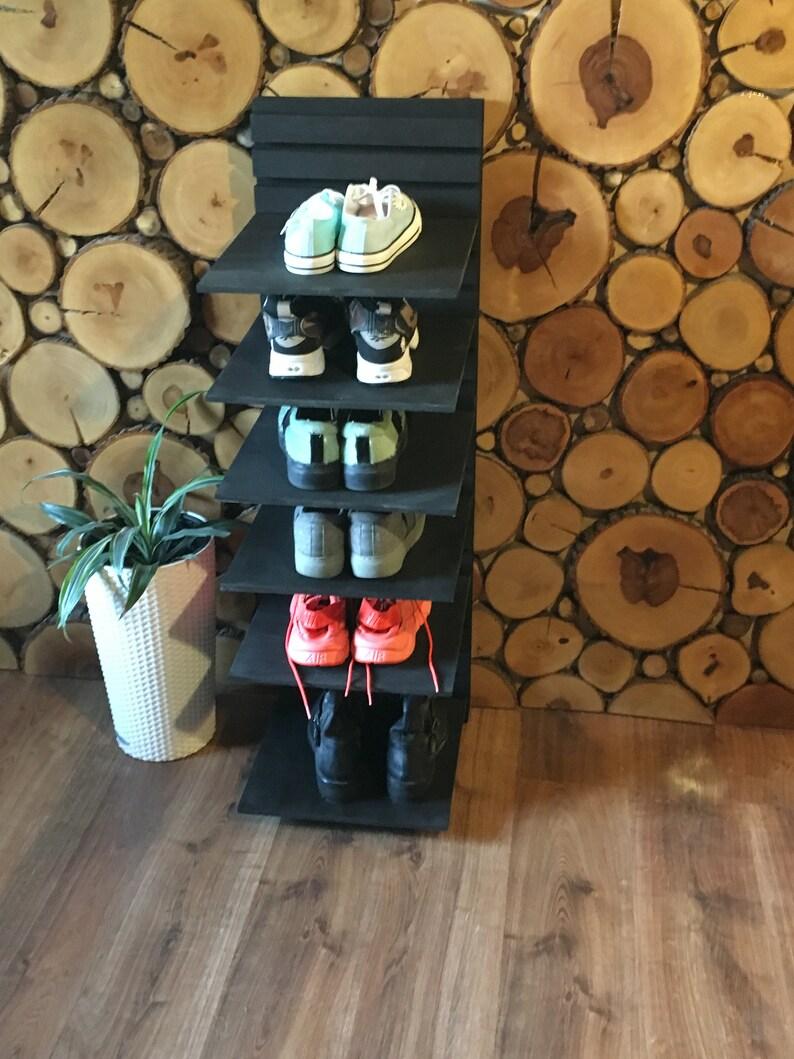 small shoe bench homedecore shoe storage Wooden shoe organizer entryway Shelf scaffold furniture shoe cabinet