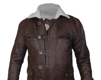 c17a87841 Shearling jacket men | Etsy