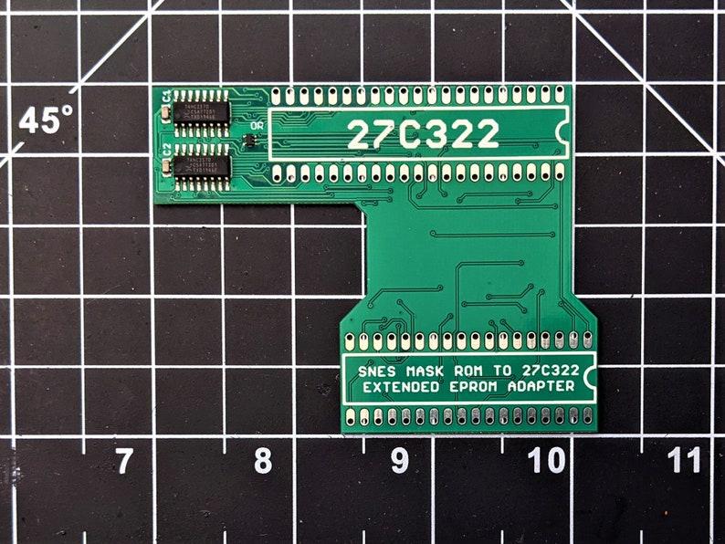 SNES to 27C322 Extended Adapter Board image 0