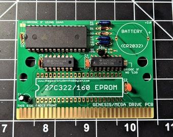 Sega Genesis/Mega Drive Cartridge Circuit Board