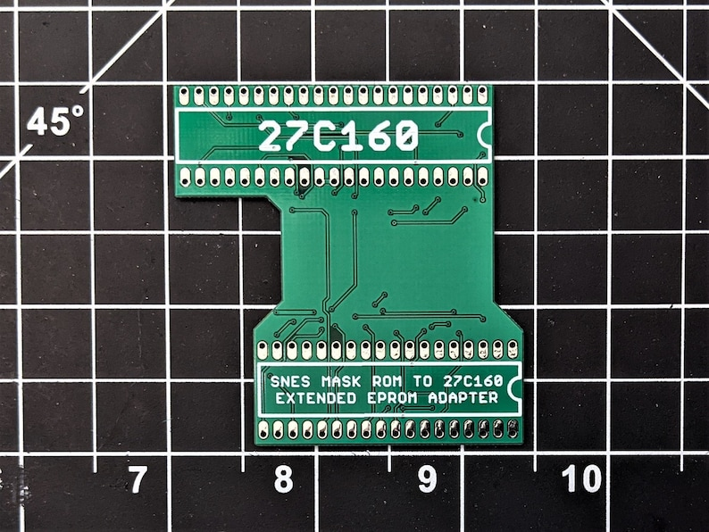 SNES to 27C160 Extended Adapter Board image 0