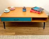Mid Century Style Coffee Table Retro Design