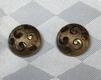 113 old copper-colored collectors  glass buttons 16.5 mm 5 square glass buttons