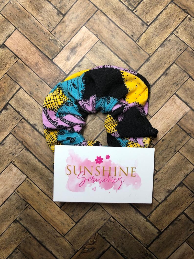 Nightmare Before Christmas Scrunchie-Sally Scrunchie-Scrunchie-Scrunchies-DIsney-hair ties Jack Skellington