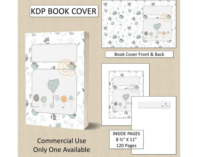 Simple Flowers Book Cover Design
