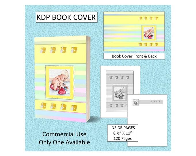 Little Beach Boy Kids Book Cover Design - Original Artwork