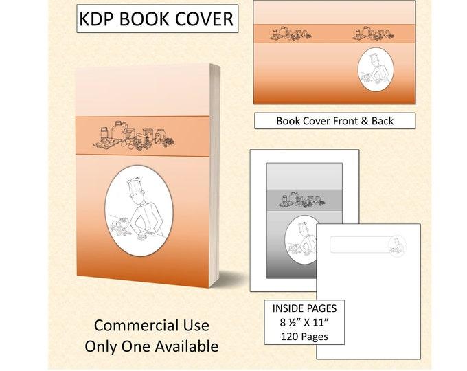 Cookbook Chef Recipe Book Cover Design - Original Artwork
