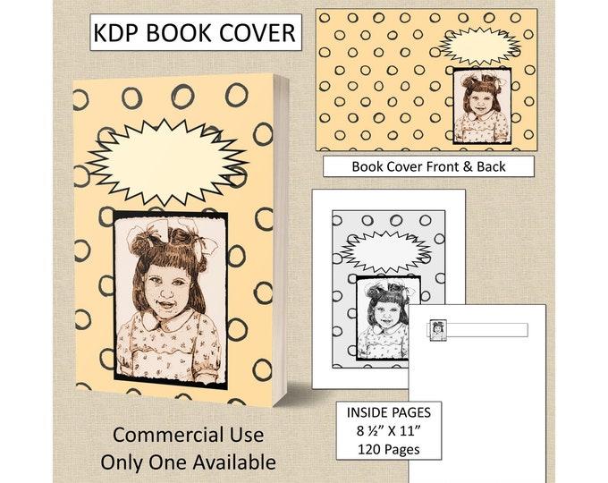 Little Girl Book Cover Design - Original Artwork