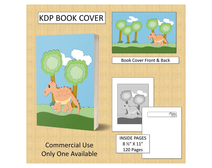 Modern Theme Cut-Out Style Dragon Book Cover Design