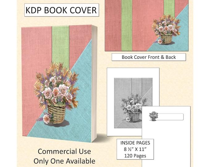 Flower Basket Book Cover Design