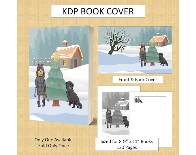 Christmas Book Cover for KDP Cover For KDP Book Covers KDP Publishing Book Cover Design Book Cover Template Commercial Use