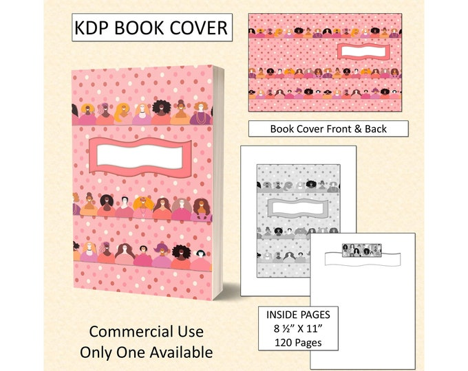 Women Empowered Book Cover Design